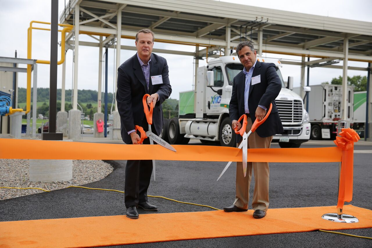 Direct Energy Business, XNG Open Innovative Compressed Natural Gas Station in NY