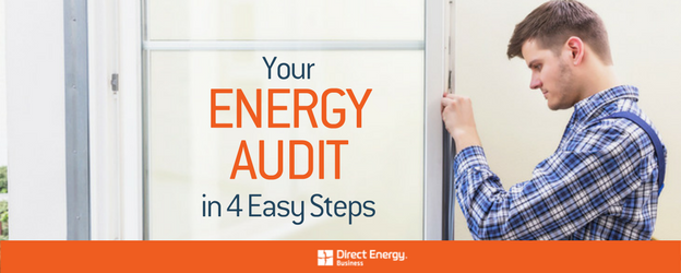 Your Energy Audit in 4 Easy Steps