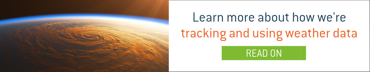 Learn more about how we're tracking and using weather data