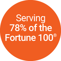 Serving 78% of the Fortune 100 companies