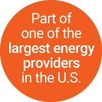 Part of one of the largest energy providers in the U.S.